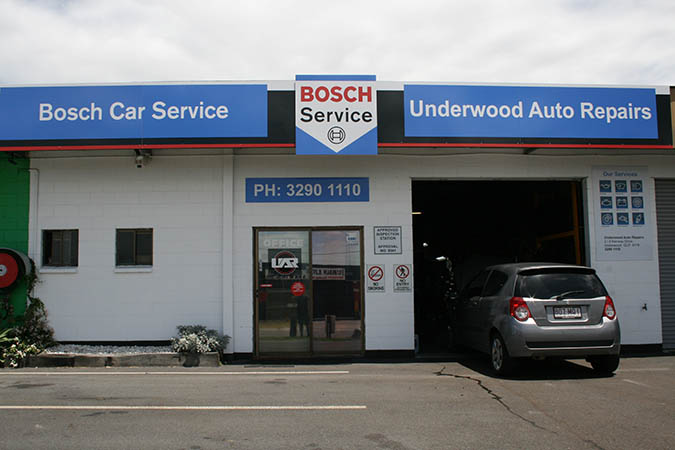 photo of underwood auto workshop